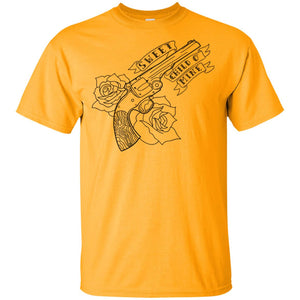 445 - Tattoos Art - Gun 1 G200 Gildan Ultra Cotton T-Shirt