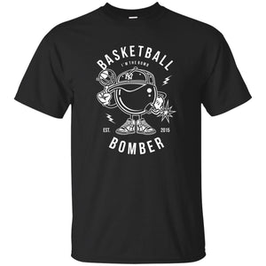 107 - RTP - Roach Graphics - Basketball Bombers-01 - Adult Unisex T-Shirt