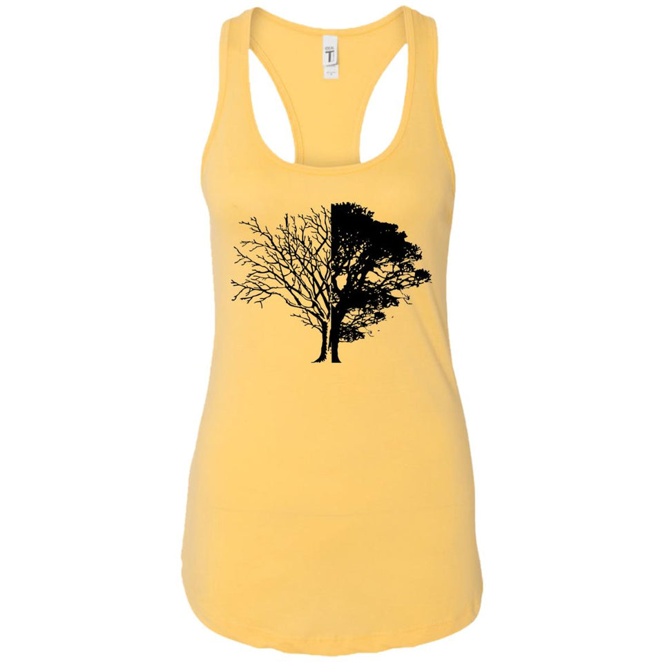 Life And Death - Vintage Art - Women's Racerback Tank Top
