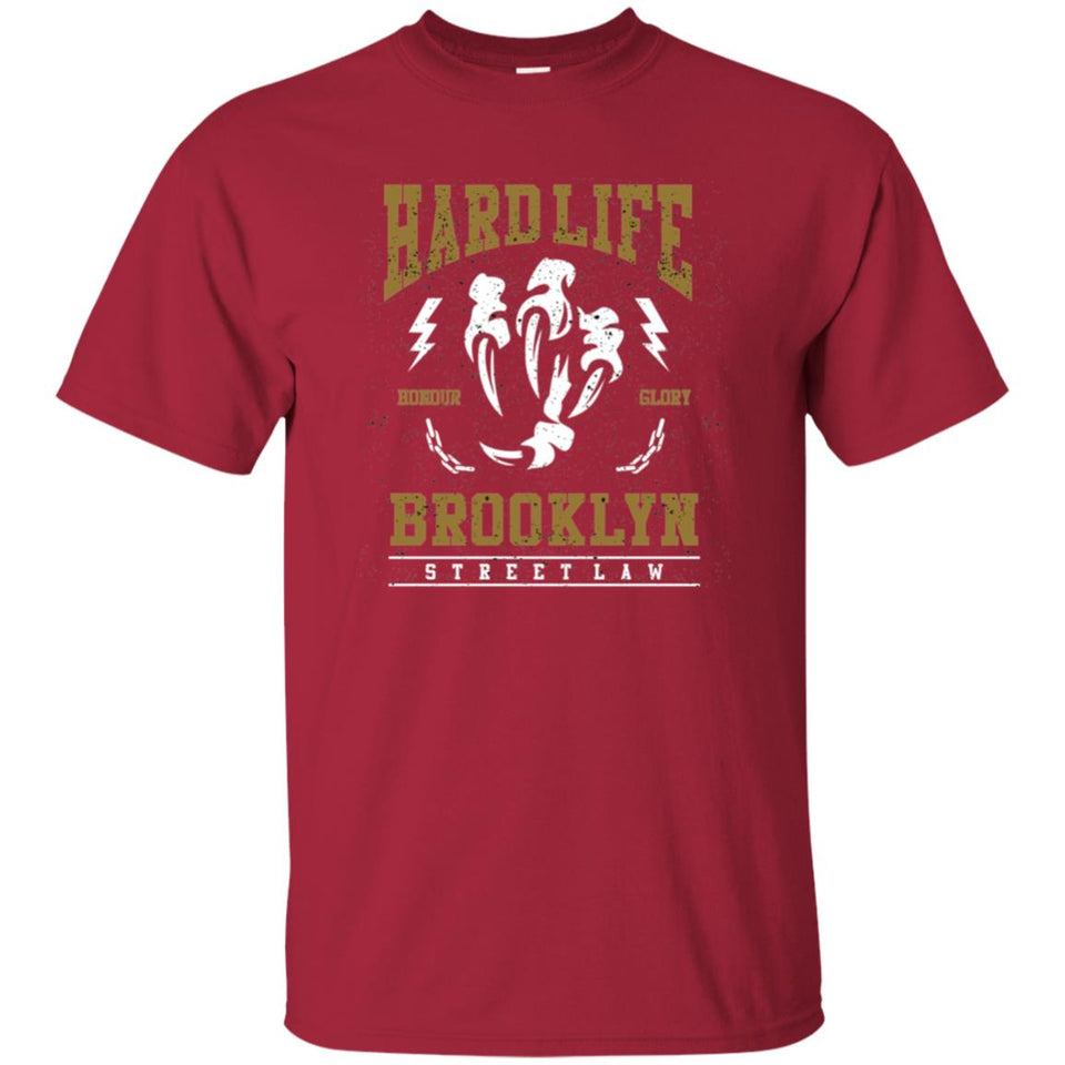 163 - RTP - Roach Graphics - Hard Life-01 - Adult Unisex T-Shirt