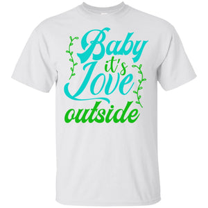 2040 - Baby It's Love - Adult Unisex T-Shirt