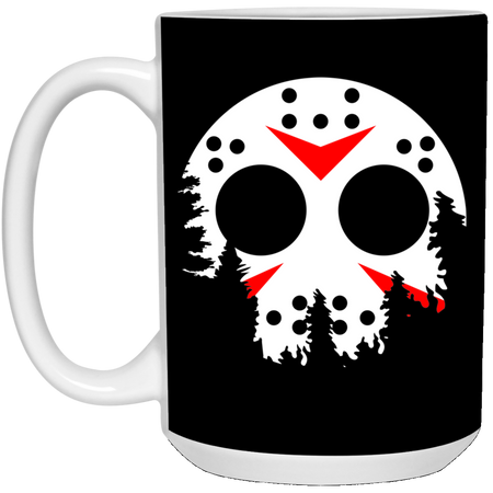 Jason Moon - Horror Art - 15 oz. White Mug - 55