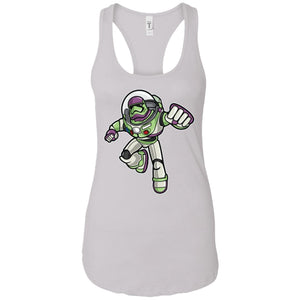 Buzz Trooper - Movies Art - Women's Racerback Tank Top