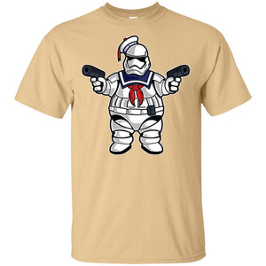 191 - RTP - Roach Graphics - Marshmallow Trooper-01 - Adult Unisex T-Shirt
