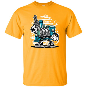 263 - RTP - Roach Graphics - Train Killer-01 - Adult Unisex T-Shirt