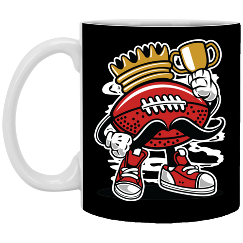 Football King - 11 oz Ceramic Mug - 147