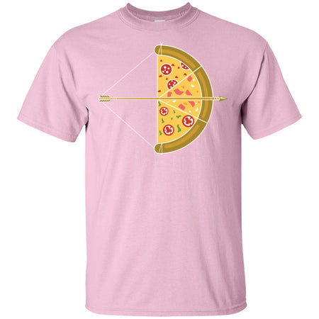 4 - RTP - Caffein Art - Arrow Pizza - Pizza Art - Adult Unisex T-Shirt
