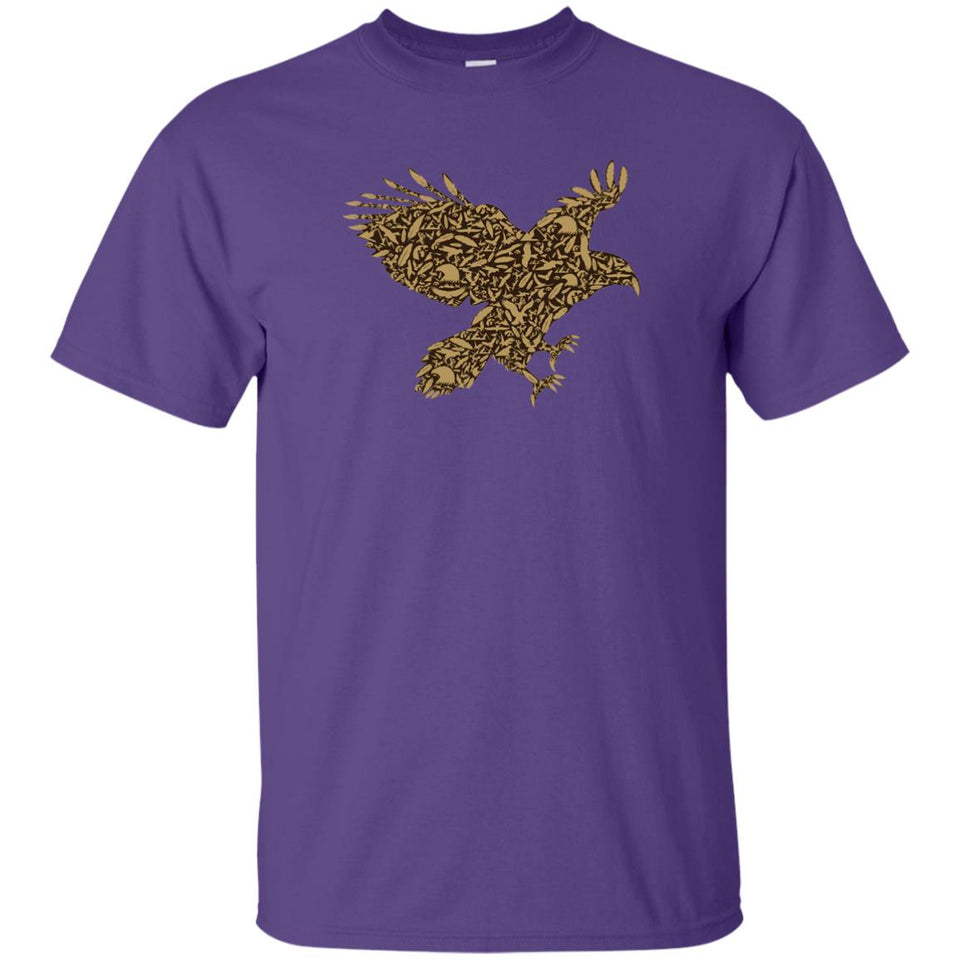 30 - RTP - Caffein Art - Eagle - Doodle Art - Adult Unisex T-Shirt