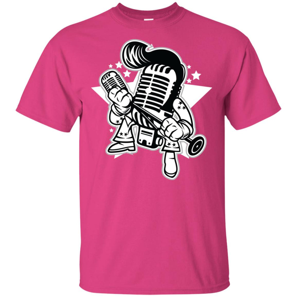 193 - RTP - Roach Graphics - Microphone King-01 - Adult Unisex T-Shirt