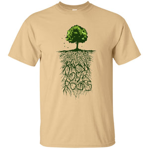 58 - RTP - Caffein Art - Know Your Roots - Vintage Art - Adult Unisex T-Shirt