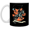Plague Doctor - 11 oz. White Mug - 327