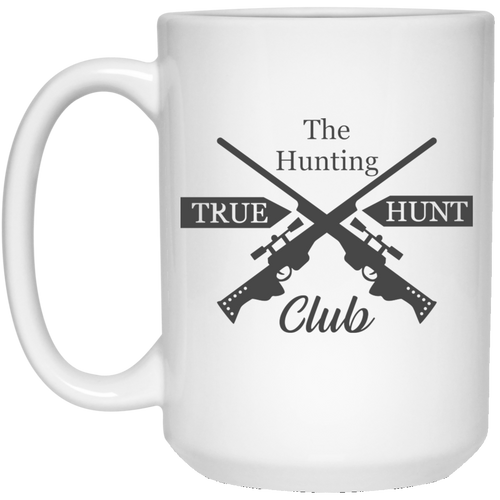 The Hunting Club - 15 oz. White Mug - 2170