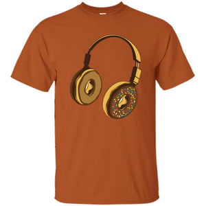 51 - RTP - Caffein Art - Headphone Donut - Music Art - Adult Unisex T-Shirt
