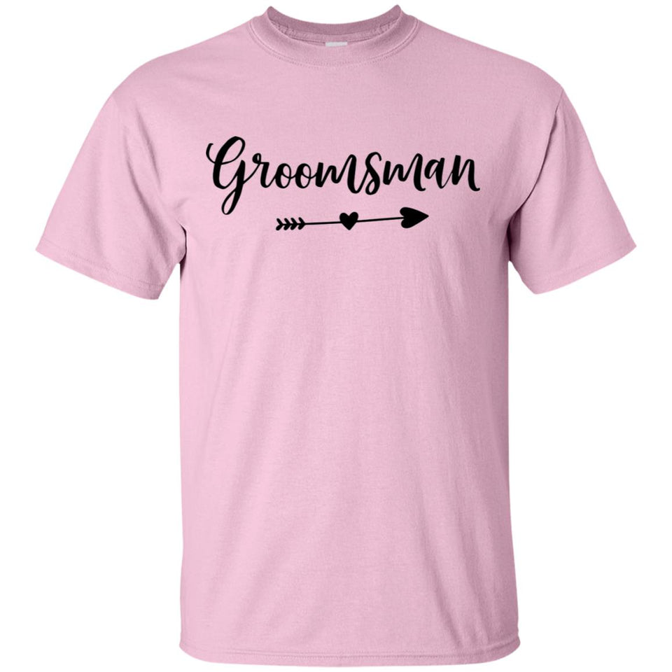 2311B - RTP - Wedding Quotes - Groomsman - Adult Unisex T-Shirt