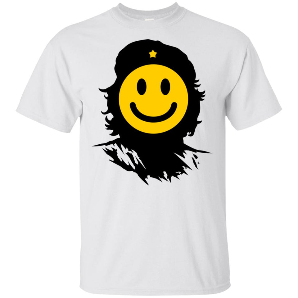 17 - RTP - Caffein Art - Che Smile - Happy Art - Adult Unisex T-Shirt