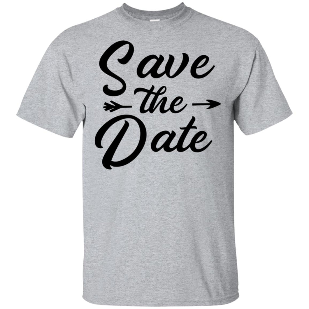 2324B - RTP - Wedding Quotes - Save-The-Date - Adult Unisex T-Shirt