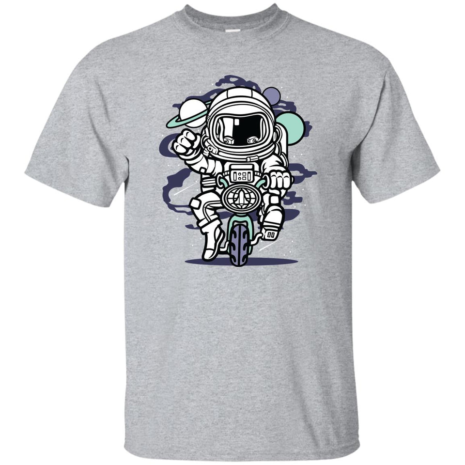 228 - RTP - Roach Graphics - Space Bike-01 - Adult Unisex T-Shirt