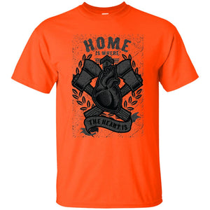 165 - RTP - Roach Graphics - Home Is Where-01 - Adult Unisex T-Shirt