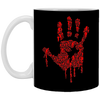 Hand Of Zombies - Horror Art - 11 oz. White Mug - 50