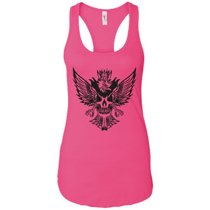 Eagle mix - Tattoos Art - Women's Racerback Tank Top