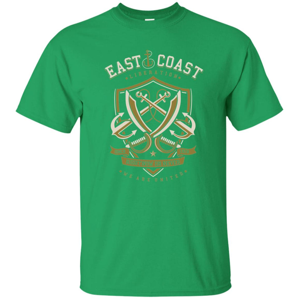 141 - RTP - Roach Graphics - East Coast-01 - Adult Unisex T-Shirt