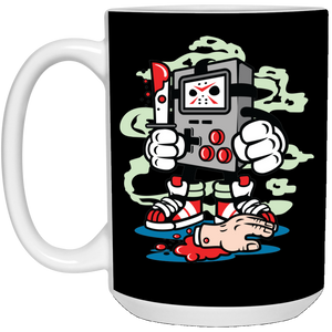 153 - RTP - Roach Graphics - Gamers Killer-01 - 21504 15 oz. White Mug