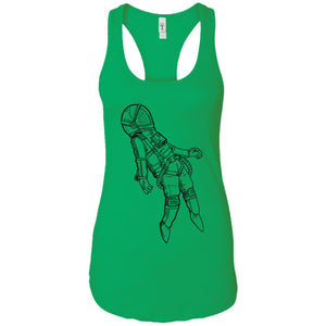 Space 1 - Tattoos Art - Women's Racerback Tank Top