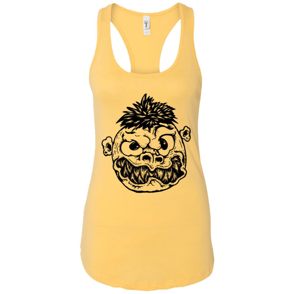 Angry eyes - Tattoos Art - Women's Racerback Tank Top