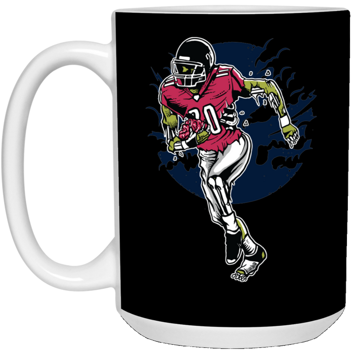 356 - Emirez's Bundle - Zombie Football - 15 oz. White Mug
