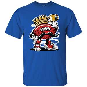 147 - RTP - Roach Graphics - Football King-01 - Adult Unisex T-Shirt