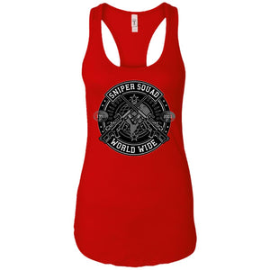Sniper - Military Art - Women's Racerback Tank Top