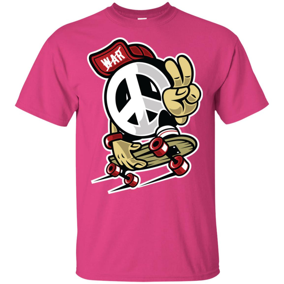 204 - RTP - Roach Graphics - Peace-01 - Adult Unisex T-Shirt