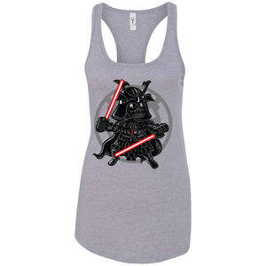 Darkside Samurai - Movies Art - Women's Racerback Tank Top