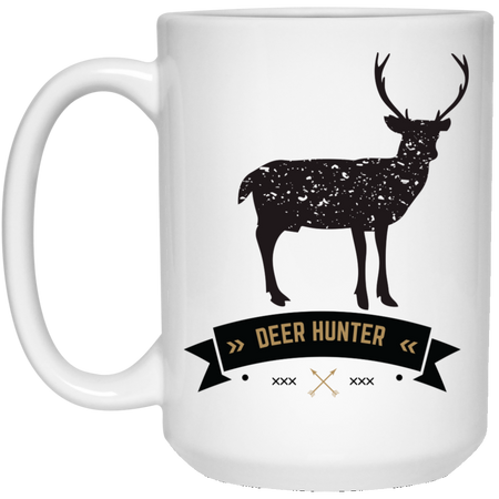 Deer - Hunting - 15 oz. White Mug - 2158