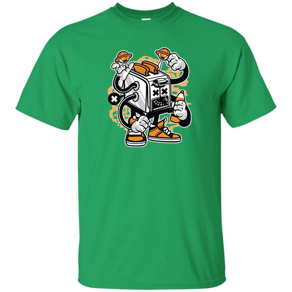 262 - RTP - Roach Graphics - Toaster Monster-01 - Adult Unisex T-Shirt