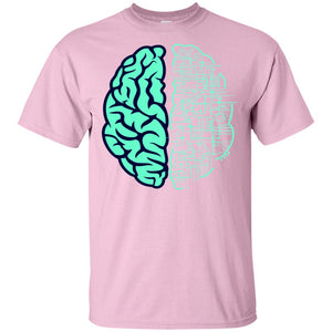 33 - RTP - Caffein Art - Electric Brain - Doodle Art - Adult Unisex T-Shirt