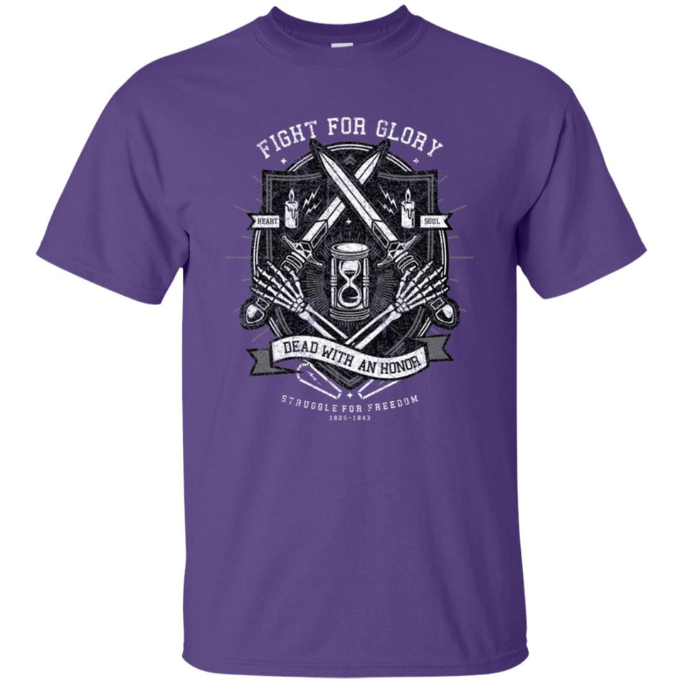 143 - RTP - Roach Graphics - Fight For Glory-01 - Adult Unisex T-Shirt