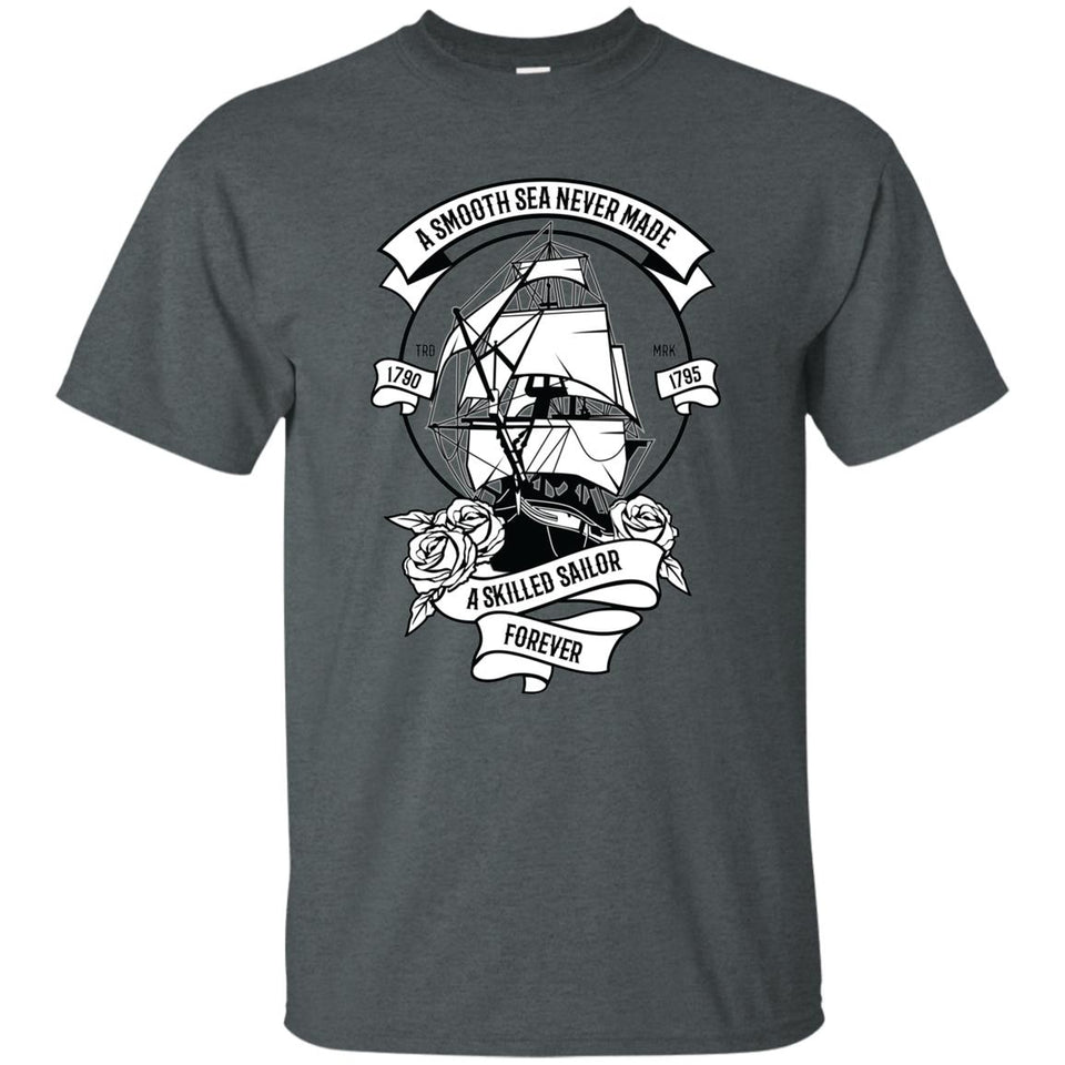 101 - RTP - Roach Graphics - A Skilled Sailor-01 - Adult Unisex T-Shirt