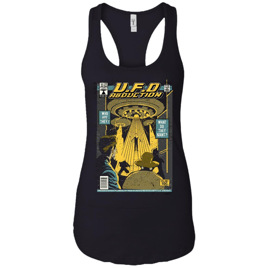 U.F.O - UFO Art - Women's Racerback Tank Top