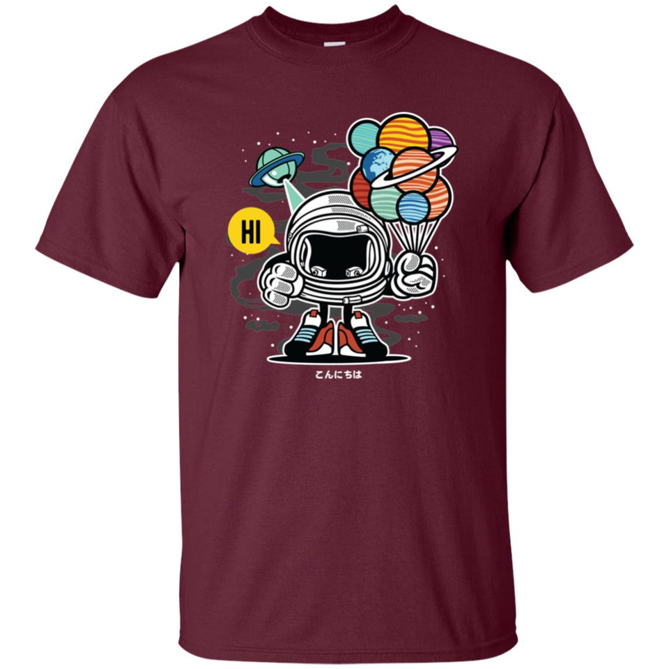 154 - RTP - Roach Graphics - Gift From Outer Space-01 - Adult Unisex T-Shirt