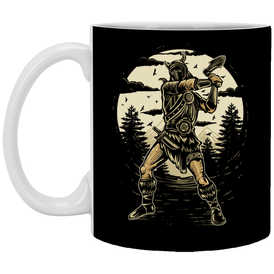 Viking - 11 oz. White Mug - 353