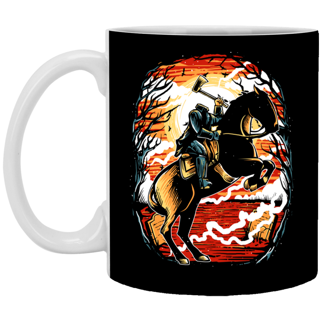 Headless Horseman - 11 oz. White Mug - 311
