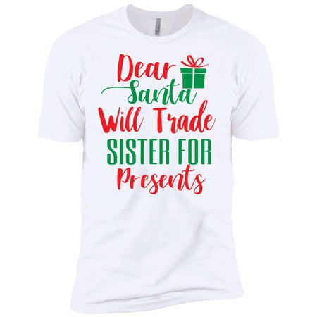 Dear Santa Presents Christmas T-Shirt