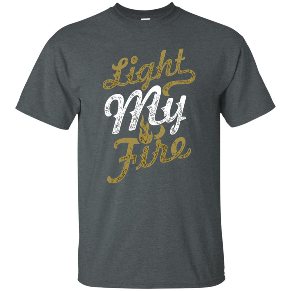 185 - RTP - Roach Graphics - Light My Fire-01 - Adult Unisex T-Shirt