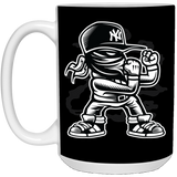 Fighter - Street Style Art - 15 oz. White Mug - 144