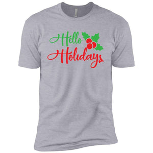 Hello Holidays Christmas T-Shirt
