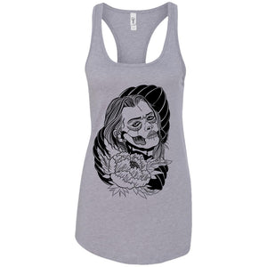 Dead beauty - Tattoos Art - Women's Racerback Tank Top