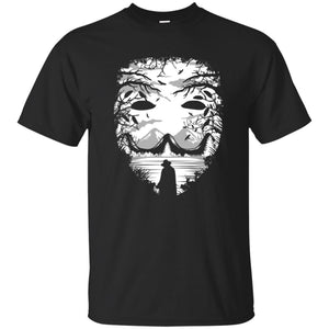 90 - RTP - Caffein Art - The Mask - Horror Art - Adult Unisex T-Shirt