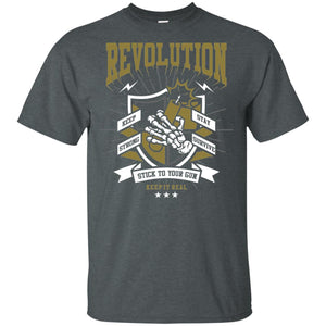 212 - RTP - Roach Graphics - Revolution-01 - Adult Unisex T-Shirt Premium