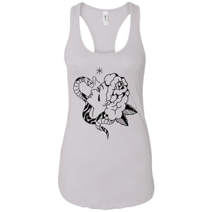 Bite me - Tattoos Art - Women's Racerback Tank Top